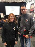 Malin Lager og Peter Wilhelsson Scandtick Innovation